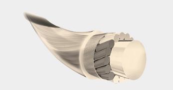 テニスのガット素材ナイロン