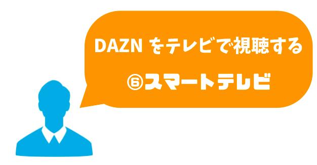 DAZN_テレビ_スマートテレビ