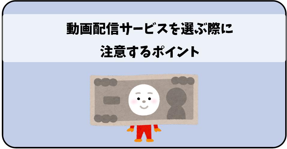 動画配信サービス(VOD)選び方_注意点